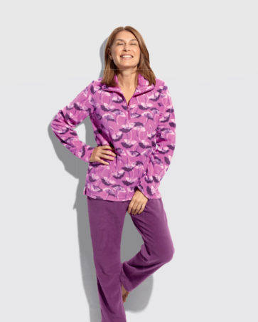 Damska piżama polarowa