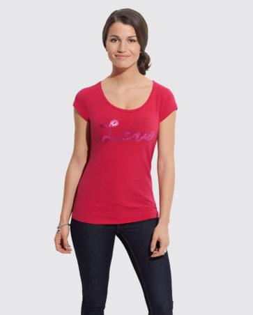 Koszulka damska z aplikacją
