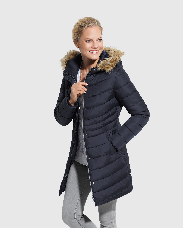 kurtka zimowa damska biedronka