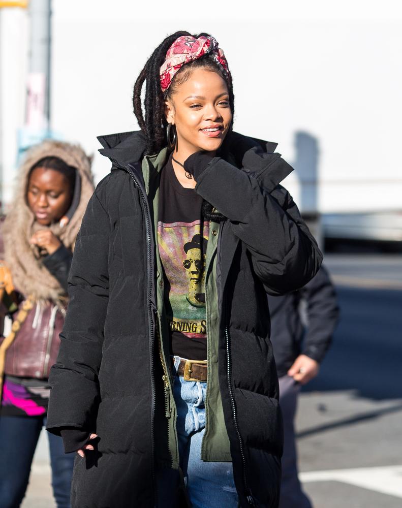 Rihanna – dama pik-owana